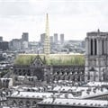 Studio NAB proposes educational and socially active greenhouse roof for Notre-Dame Cathedral