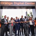 Orange Digital Centre opening in Tunisia.