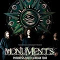 Monuments to perform in SA in August