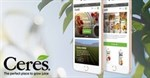 Ceres gets a new highly interactive website from Techsys Digital