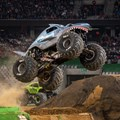 Monster Jam delivers with flips, jumps, doughnuts, dust and methanol