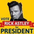 OFM dedicates voting day to 80s icon Rick Astley