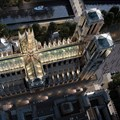 Miysis proposes fully-glazed roof, new spire for Notre-Dame Cathedral
