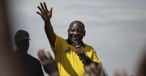 Local communities have taken advantage of campaign trail visits by leaders such as President Cyril Ramaphosa | Epa/Kim Ludbrook