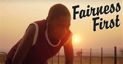 A screen grab from Nike's ad, featuring Caster Semenya.