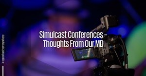 Simulcast conferences - thoughts from our MD