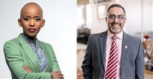 Lynette Ntuli, founding director and CEO of Innate Investment Solutions, and TC Chetty, RICS country manager for SA