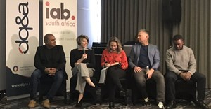 Ashish Williams, CEO of Mediacom and IAB SA Research Council lead, Nicole Gundelfinger, group marketing manager, Cash Converters, Candice Goodman, MD Mobitainment and IAB Education Council, Johan Walters, managing consultant at DQ&A and Mongezi Mtati, Ornico's marketing manager. © .