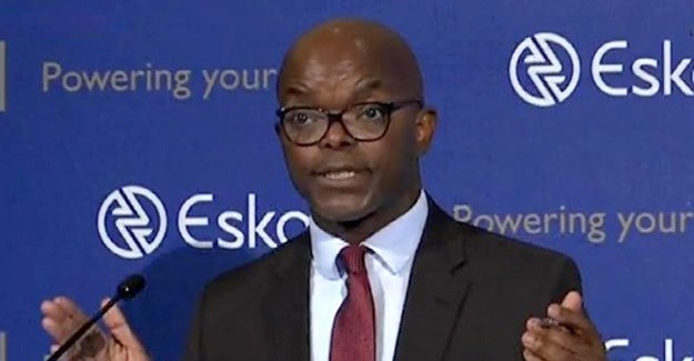 Eskom chief executive, Phakamani Hadebe