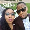 "Sithole captions this: ""My partner in crime and selfies. It just doesn't work out when I'm on my own."""
