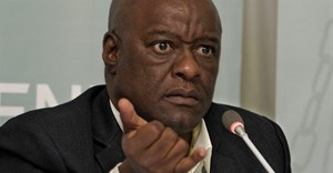 Former head of the Gauteng department of health Barney Selebano (pictured) may lose his license to practise medicine after an inqury into his involvement in the Life Esidimeni deaths in September. (Joyrene Kramer, Section27)