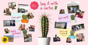 HelloFCB+ and Netflorist say it with a Pencil