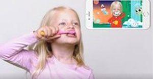 Jordan makes brushing teeth fun for kids