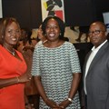 (L-R) At the Digital Lagos: Broadband for All, cocktail reception hosted by MainOne: Solape Hammond, CEO impact hub and Lagos State transition committee member; Funke Opeke. CEO MainOne and Babatunde Dada, chief financial officer MainOne.