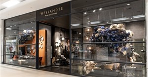 Blomboy's floral designs grace Weylandts window
