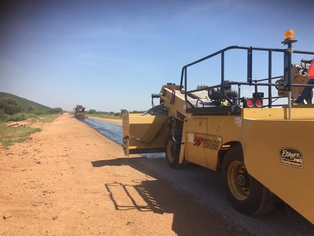 Female-led youth asphalt-manufacturing company launched in Limpopo