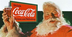 Santa Claus for Coca-Cola...