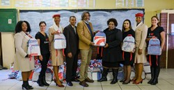 #WorldEnvironmentDay: Emirates upcycles SA billboards into school bags