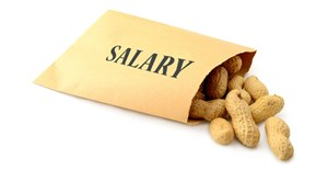 Would you work for peanuts? Be realistic with entry-level salaries