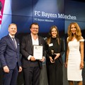 Winners of the Brand Effect of the Year: Brand Design award: FC Bayern Munich (Interbrand GmbH).