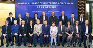 Prof Hester Klopper, deputy vice-chancellor: strategy and internationalisation represented SU at the inaugural executive meeting of the Global Alliance of Universities on Climate (GAUC) in Beijing.