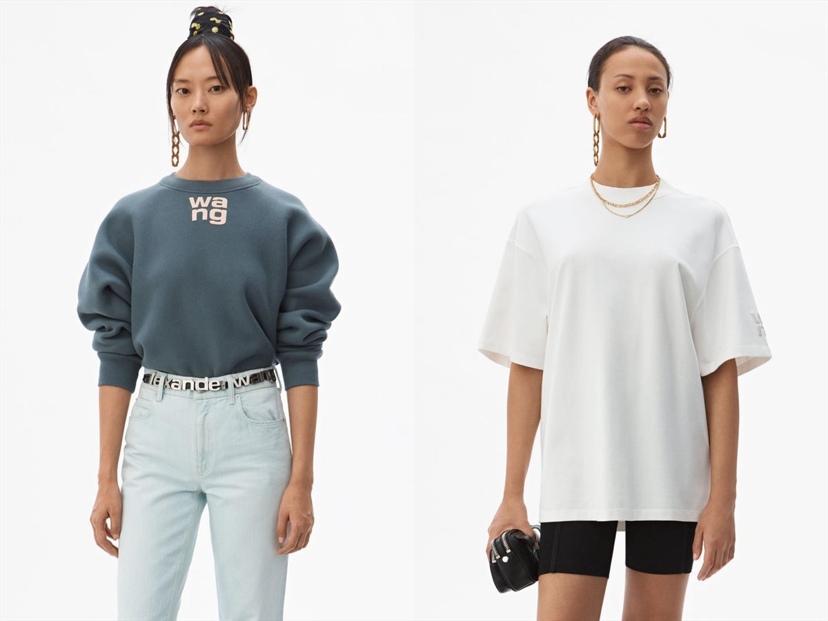 Looks from Women's T by Alexander Wang - a collection of elevated basics and essentials.
