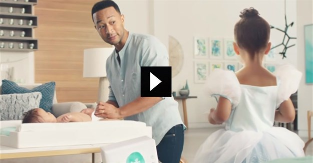 #CannesLions2019: John Legend partners with Pampers to address changing table inequality [WATCH]