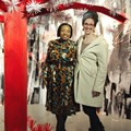 Thabisa Mkhwanazi, KFC Africa's public affairs director with Amanda Esterhuysen, Origins museum director. Image supplied.
