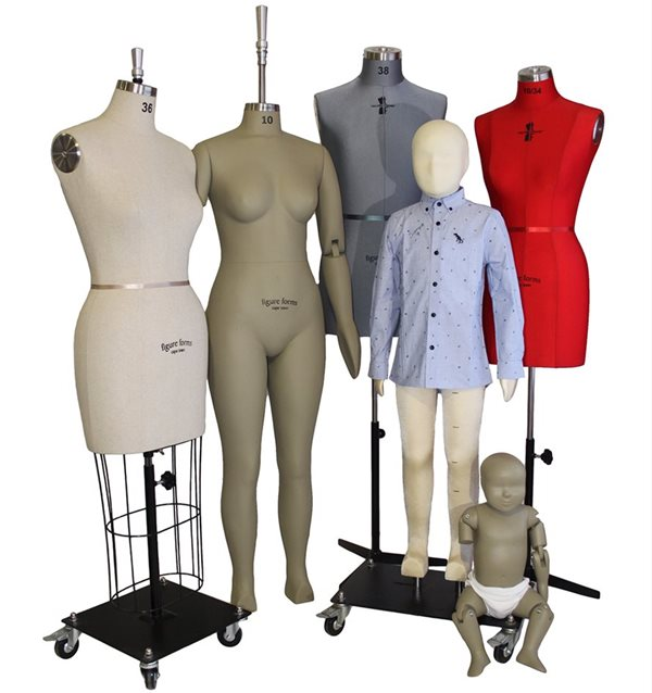 Figure Forms: 3 decades serving the clothing industry