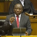 South African President Cyril Ramaphosa delivering his third state of the nation address. EPA-EFE/Roger Bosch / Pool