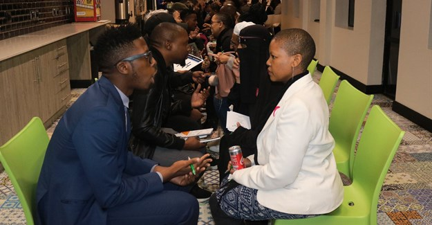 Creatives and entrepreneurs connect at the first Pair Fair hosted by Raizcorp and the Loeries. Image supplied.