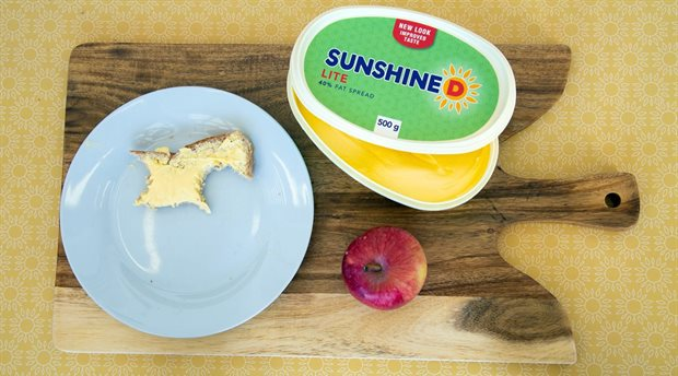 New look and taste for Sunshine D