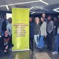 The judging panel gathered at TBWA\Hunt\Lascaris Johannesburg. Image supplied.