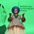 Poet, performer, singer, actress and presenter, Lebo Mashile was the MC for the evening. Image supplied.