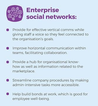 How social networking is building better businesses from the inside
