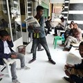 Ethiopians read newspapers in Addis Ababa on June 24. Following what the government refers to as a failed attempted coup, access to the internet was cut and journalists were arrested. Credit: CPJ/Reuters/Tiksa Negeri.
