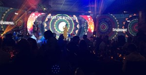 """Image via , caption: Chilli 'n Lime setting the mood, the best of the industry in one room, Issa vibe!"""" #APEXawards2019"""