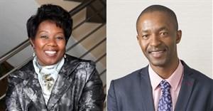 PSCC CEO Portia Tau-Sekati and chairman Sedise Moseneke