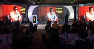 Refilwe Maluleke, MD Yellowwood on stage. © .