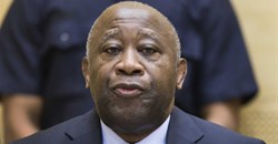 Former Ivory Coast President Laurent Gbagbo attends a confirmation of charges hearing at the International Criminal Court in The Hague. EPA/Michael Kooren