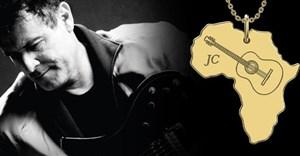 18K gold Shimansky pendant released in remembrance of Johnny Clegg