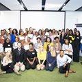Female tech entrepreneurs graduate