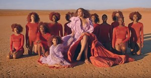 Still from Beyonce's 'Spirit' music video.