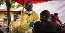 Health officer on the front-line in the DRC. Flickr