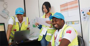 From humble beginnings to the world: GL events South Africa upskills local people