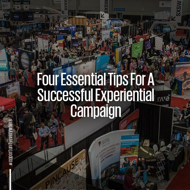 4 essential tips for a successful experiential campaign