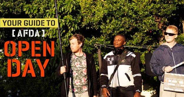The AFDA guide to Open Day 2019