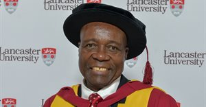 VUT's chancellor, Dr Xolani Mkhwanazi, a Lancaster University Alumnus awarded a Doctor of Science