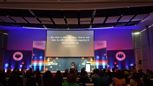 Smit on stage at the CEM Africa Summit.