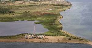 Albertine Graben region in Uganda